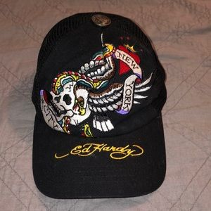 Accessories - Ed Hardy Hat